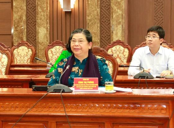 Đảng đoàn Quốc hội cho ý kiến vào Dự thảo Báo cáo chính trị của Đảng bộ TP Hà Nội ảnh 4