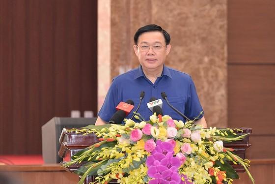 Đảng đoàn Quốc hội cho ý kiến vào Dự thảo Báo cáo chính trị của Đảng bộ TP Hà Nội ảnh 2
