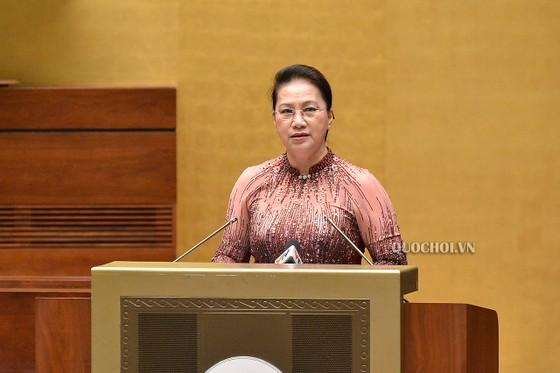 Chủ tịch Quốc hội Nguyễn Thị Kim Ngân gặp mặt các điển hình tiên tiến ngành công an ảnh 1