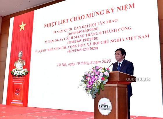 Chủ tịch Quốc hội Nguyễn Thị Kim Ngân tham dự Lễ trao Huân chương Lao động cho lãnh đạo Quốc hội ảnh 2
