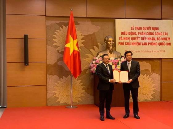 Chủ tịch PVN Trần Sỹ Thanh làm Phó Chủ nhiệm Văn phòng Quốc hội ảnh 1