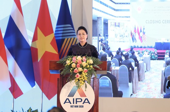 Bế mạc trọng thể Đại hội đồng AIPA 41 sau 3 ngày làm việc chính thức ảnh 1