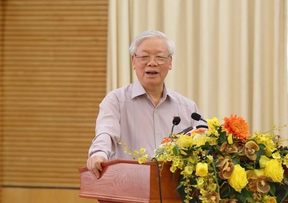 """Tiếp xúc cử tri Hà Nội, Tổng bí thư, Chủ tịch nước Nguyễn Phú Trọng: """"Lãnh đạo phải bản lĩnh, có phương pháp và đặc biệt là phải đoàn kết"""" ảnh 3"""