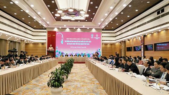 Hội thảo khoa học 'Tư tưởng Hồ Chí Minh về Nhà nước và pháp luật: Giá trị và thực tiễn vận dụng ở Việt Nam' ảnh 1