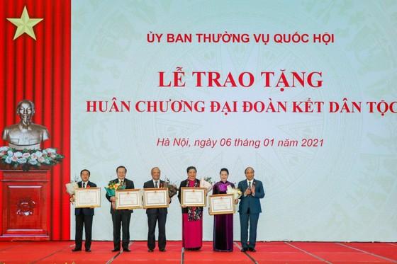 Huân chương Đại đoàn kết Dân tộc được trao tặng lãnh đạo Quốc hội ảnh 1