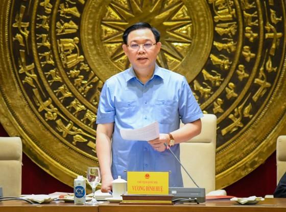 Chủ tịch Quốc hội Vương Đình Huệ làm việc với Hội đồng Dân tộc ảnh 2