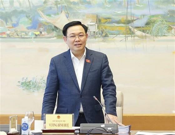 Chủ tịch Quốc hội Vương Đình Huệ ứng cử tại đơn vị bầu cử số 3, TP Hải Phòng ảnh 1