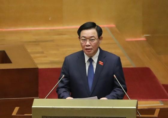 Chủ tịch Quốc hội khóa XV Vương Đình Huệ tuyên thệ nhậm chức ảnh 2