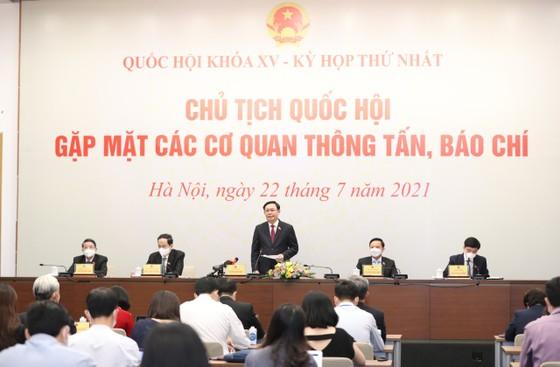 Chủ tịch Quốc hội Vương Đình Huệ: Quốc hội luôn luôn theo đuổi việc xây dựng hệ thống pháp luật đồng bộ, có 'tuổi thọ' lâu dài ảnh 1
