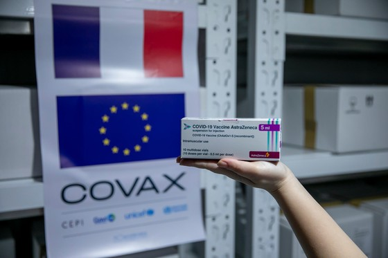 Việt Nam tiếp nhận 1.484.060 liều vaccine  Covid-19 do Pháp và Italia hỗ trợ ảnh 2