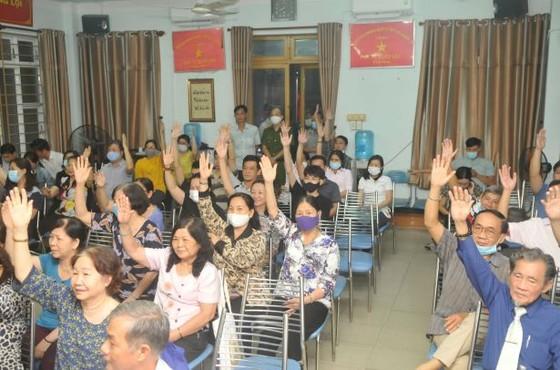 100% cử tri đồng ý giới thiệu đồng chí Phan Nguyễn Như Khuê ứng cử đại biểu Quốc hội và đại biểu HĐND TPHCM  ảnh 3