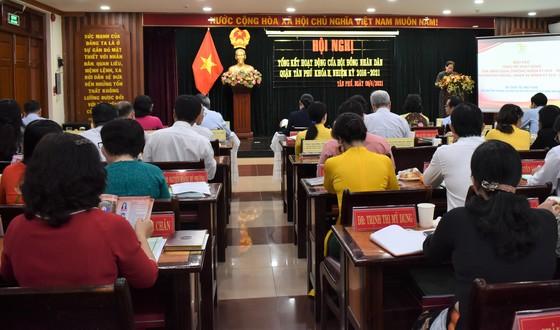 Quận Tân Phú tiếp tục giải quyết kịp thời các kiến nghị của cử tri ảnh 1