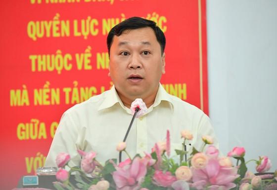 Ứng cử viên Nguyễn Thành Phong: Hiện thực hóa khát vọng phát triển, vươn lên mạnh mẽ của TPHCM ảnh 10