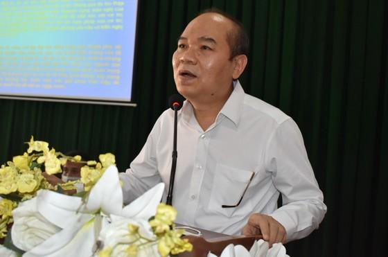 Ứng cử viên cam kết đảm bảo chất lượng môi trường sống nếu trúng cử HĐND TPHCM ảnh 1