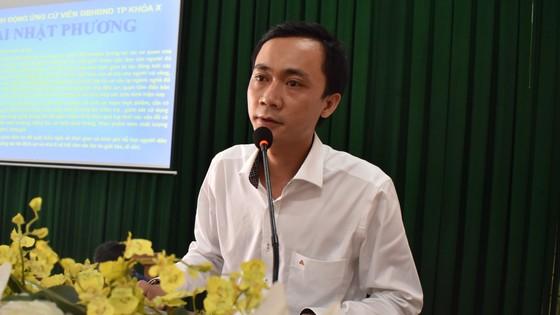 Ứng cử viên cam kết đảm bảo chất lượng môi trường sống nếu trúng cử HĐND TPHCM ảnh 3