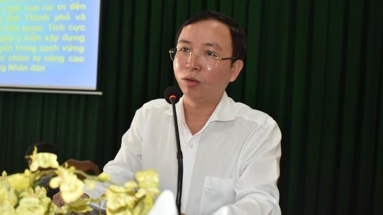 Ứng cử viên cam kết đảm bảo chất lượng môi trường sống nếu trúng cử HĐND TPHCM ảnh 4