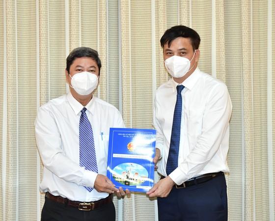 Ông Lê Tấn Cường nhận công tác tại Công ty TNHH MTV Phát triển Công nghiệp Tân Thuận ảnh 1