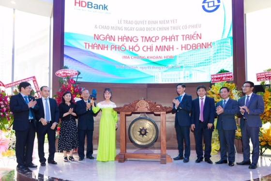 HDBank lên sàn ảnh 1