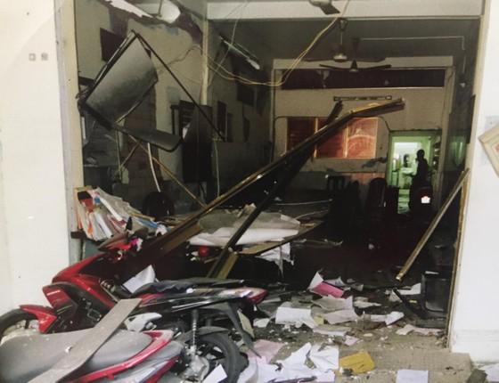 Công an TPHCM họp báo vụ nổ ở trước trụ sở công an phường 12, quận Tân Bình ảnh 6