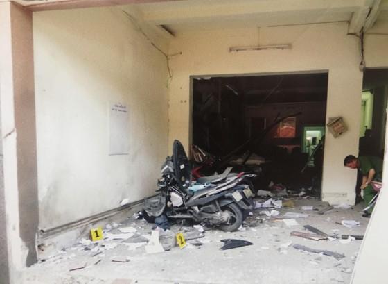 Công an TPHCM họp báo vụ nổ ở trước trụ sở công an phường 12, quận Tân Bình ảnh 5