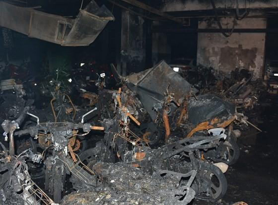 Vụ cháy chung cư Carina: Cấm đi khỏi nơi cư trú đối với nguyên Tổng giám đốc Công ty Hùng Thanh ảnh 3