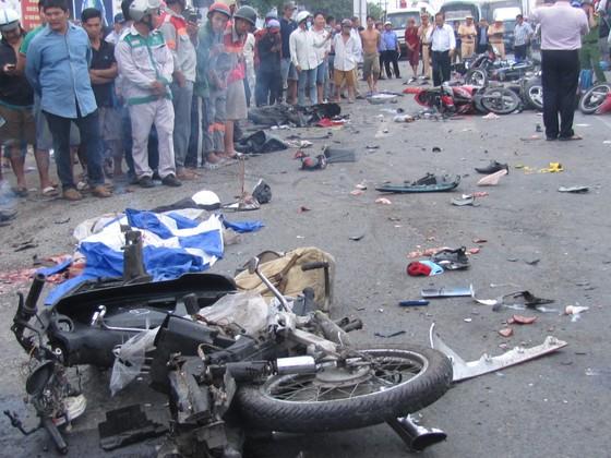 Vụ tai nạn kinh hoàng ở Long An: Hệ thống phanh xe hoạt động bình thường ảnh 3