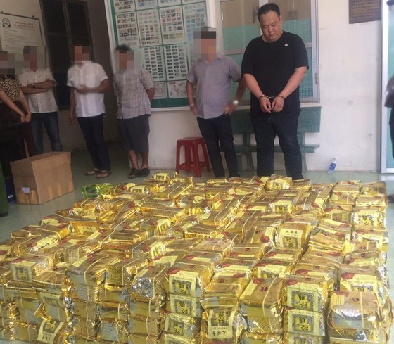 Số ma túy bắt giữ ở TPHCM và Hà Tĩnh cùng 1 đường dây ảnh 4