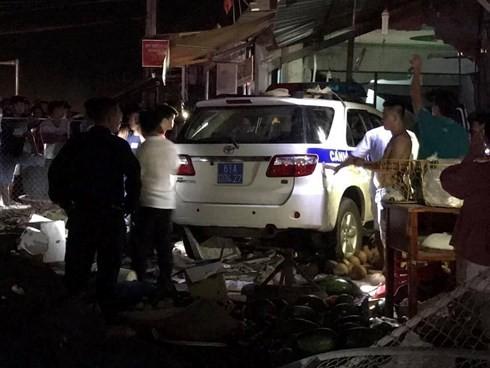 Khởi tố vụ xe CSGT gây tai nạn khiến 1 người tử vong ảnh 1