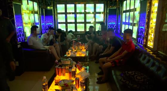 Đột kích nhà hàng Lộc Phát 68 phát hiện hàng chục người nghi phê ma tuý ảnh 3
