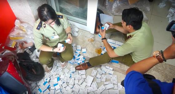 Đột kích căn nhà chứa lô tân dược nhập lậu khủng ở TPHCM ảnh 1