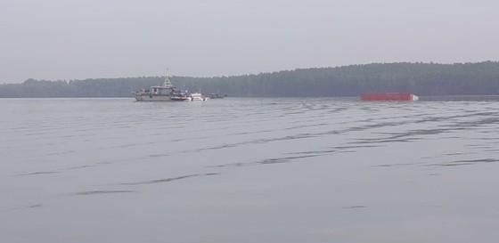 Chìm tàu hàng ngàn tấn ở huyện Cần Giờ, 18 người đã được cứu sống ảnh 1