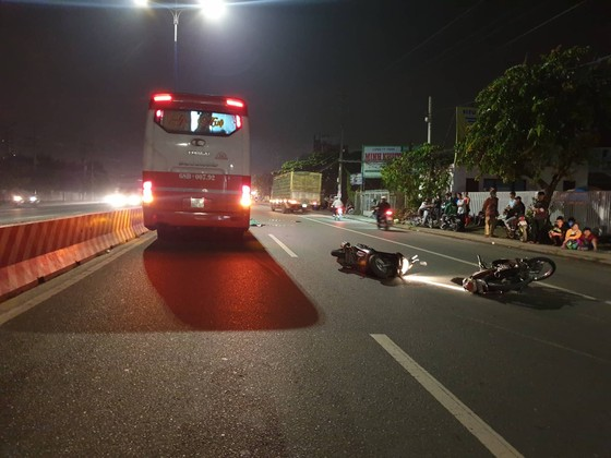 Hai người tử vong, 3 người bị thương trong 2 vụ tai nạn ở tỉnh Bình Dương ảnh 1