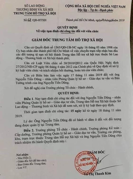 Bắt khẩn cấp cán bộ Trung tâm Hỗ trợ xã hội TPHCM bị tố dâm ô trẻ em ảnh 4