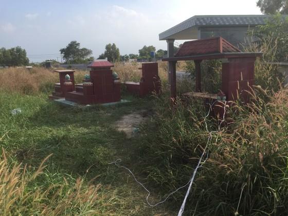 Phát hiện bộ xương bị đốt ở nghĩa địa huyện Củ Chi ảnh 1