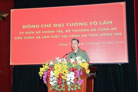 Đại tướng Tô Lâm thăm và làm việc với Công an tỉnh Đồng Nai ảnh 2