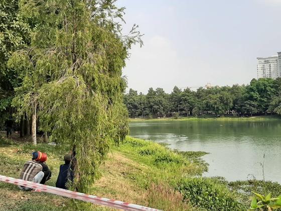 Hai người mất tích tại hồ nước trong Công viên thành phố mới Bình Dương ảnh 1