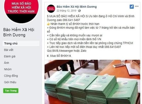 """Triệu tập cặp vợ chồng lập trang """"Bảo hiểm xã hội tỉnh Bình Dương"""" giả mạo ảnh 2"""