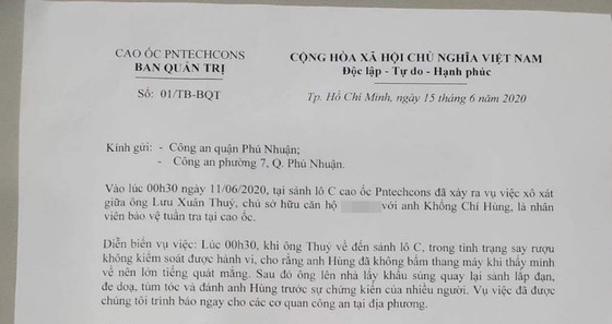 Người đàn ông nghi dùng súng dọa đánh bảo vệ cao ốc ở quận Phú Nhuận nói gì? ảnh 2
