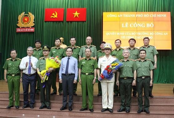 Đại tá Lê Hồng Nam giữ chức vụ Giám đốc Công an TPHCM từ ngày 1-7-2020 ảnh 3