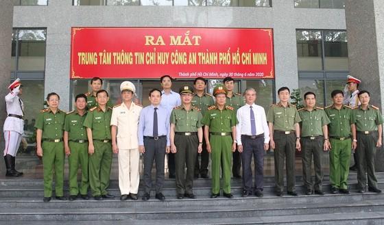 Ra mắt Trung tâm thông tin chỉ huy Công an TPHCM ảnh 1