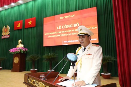 Thăng hàm Thiếu tướng cho Phó giám đốc Công an TPHCM Cao Đăng Hưng ảnh 3