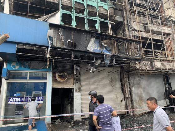 Xác định nghi can gây cháy chi nhánh ngân hàng Eximbank cùng nhà dân ở quận Gò Vấp ảnh 5