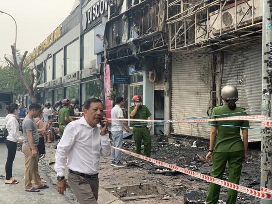 Xác định nghi can gây cháy chi nhánh ngân hàng Eximbank cùng nhà dân ở quận Gò Vấp ảnh 6