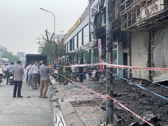 Xác định nghi can gây cháy chi nhánh ngân hàng Eximbank cùng nhà dân ở quận Gò Vấp ảnh 12