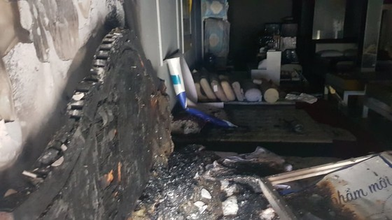 Xác định nghi can gây cháy chi nhánh ngân hàng Eximbank cùng nhà dân ở quận Gò Vấp ảnh 3