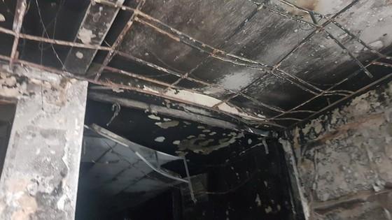 Thực nghiệm hiện trường vụ cháy chi nhánh ngân hàng cùng nhà dân ở quận Gò Vấp ảnh 3
