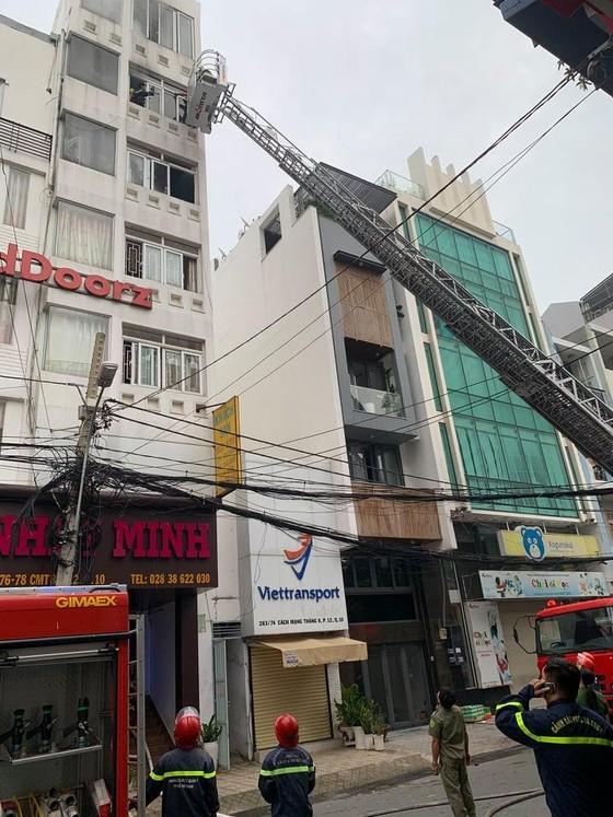 Cháy khách sạn tại quận 10, 1 người tử vong, 1 người bị thương ảnh 2
