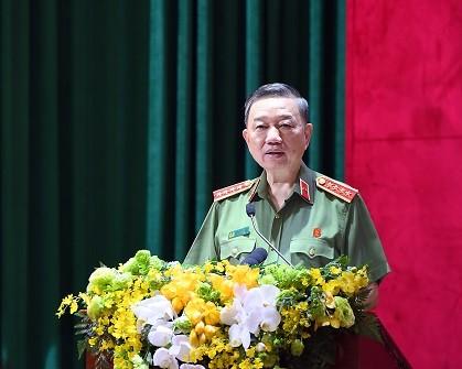 Thủ tướng Nguyễn Xuân Phúc dự khai mạc Hội nghị Công an toàn quốc lần thứ 76 ảnh 5