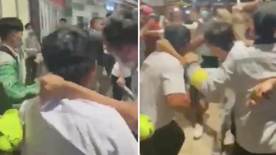 Công an nổ súng trong vụ hỗn chiến ở Aeon Mall Tân Phú ảnh 1