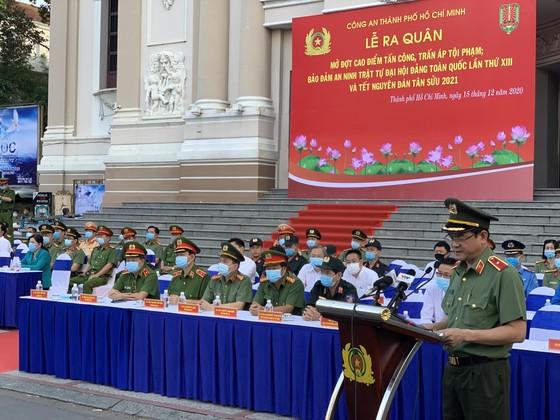 TPHCM ra quân đợt cao điểm tấn công trấn áp tội phạm đảm bảo an ninh trật tự ảnh 1